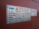 Трал CIMC CSQ9390TDP 60 т. без камерной резины